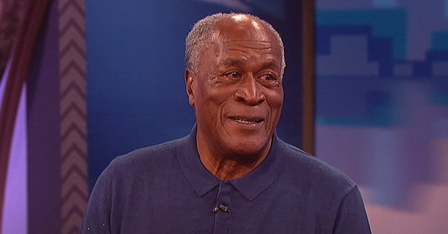 John Amos' Granddaughter Quiera Is a Carbon Copy of Her Famous Grandpa Smiling in This New Pic