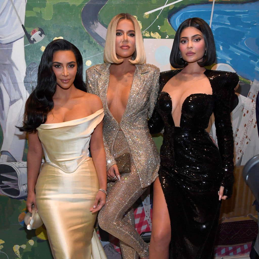 Kim Kardashian West, Khloé Kardashian, and Kylie Jenner at Sean Combs' 50th birthday bash presented by Ciroc Vodka | Photo: Getty Images