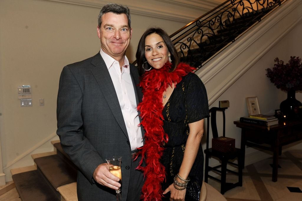 Tony Ressler and Jami Gertz at The 25th Annual LACMA Collectors Committee Weekend on April 16, 2010 in Los Angeles, California | Photo: Getty Images