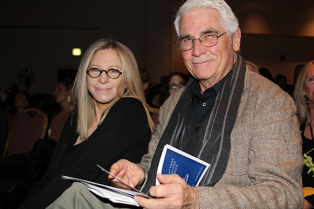 "Barbra Streisand and James Brolin at the Clinton ""Health Matters"" Conference, 2013. 