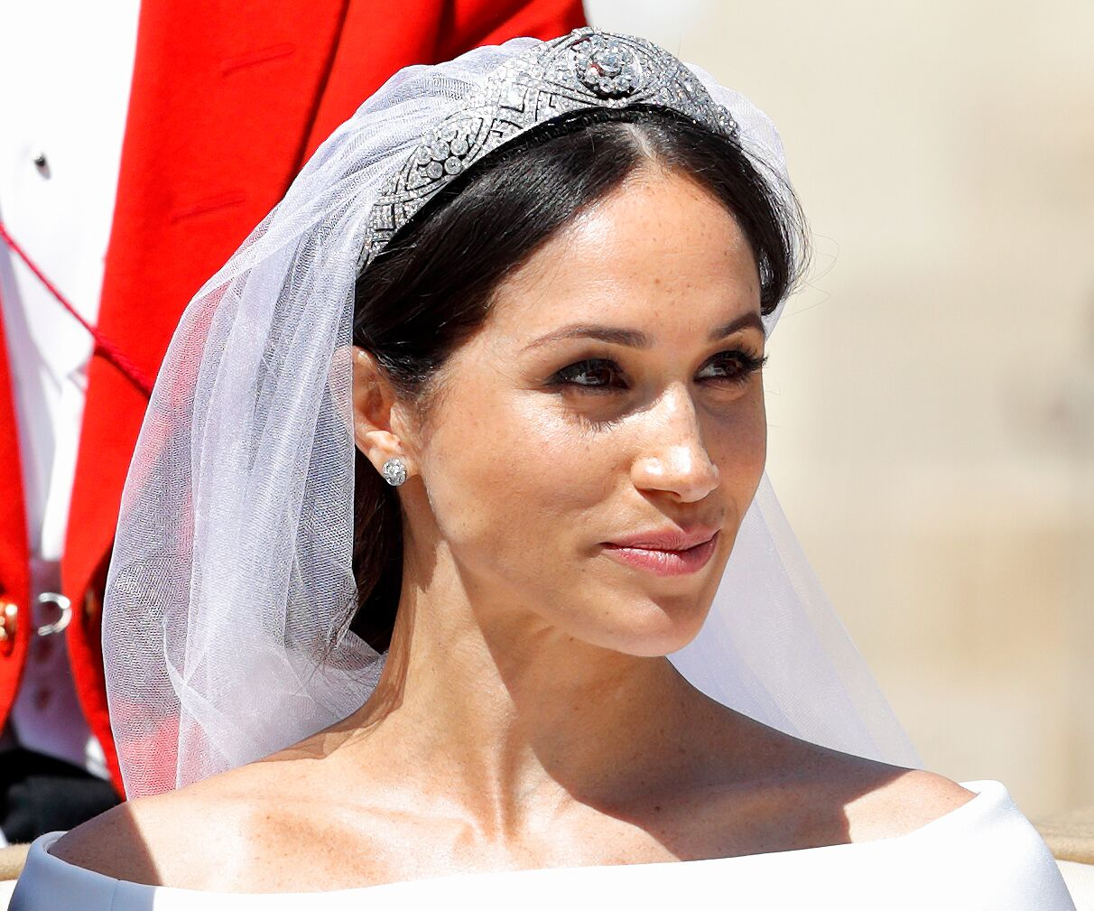 Meghan Markle on her wedding day | Getty Images / Global Images Ukraine