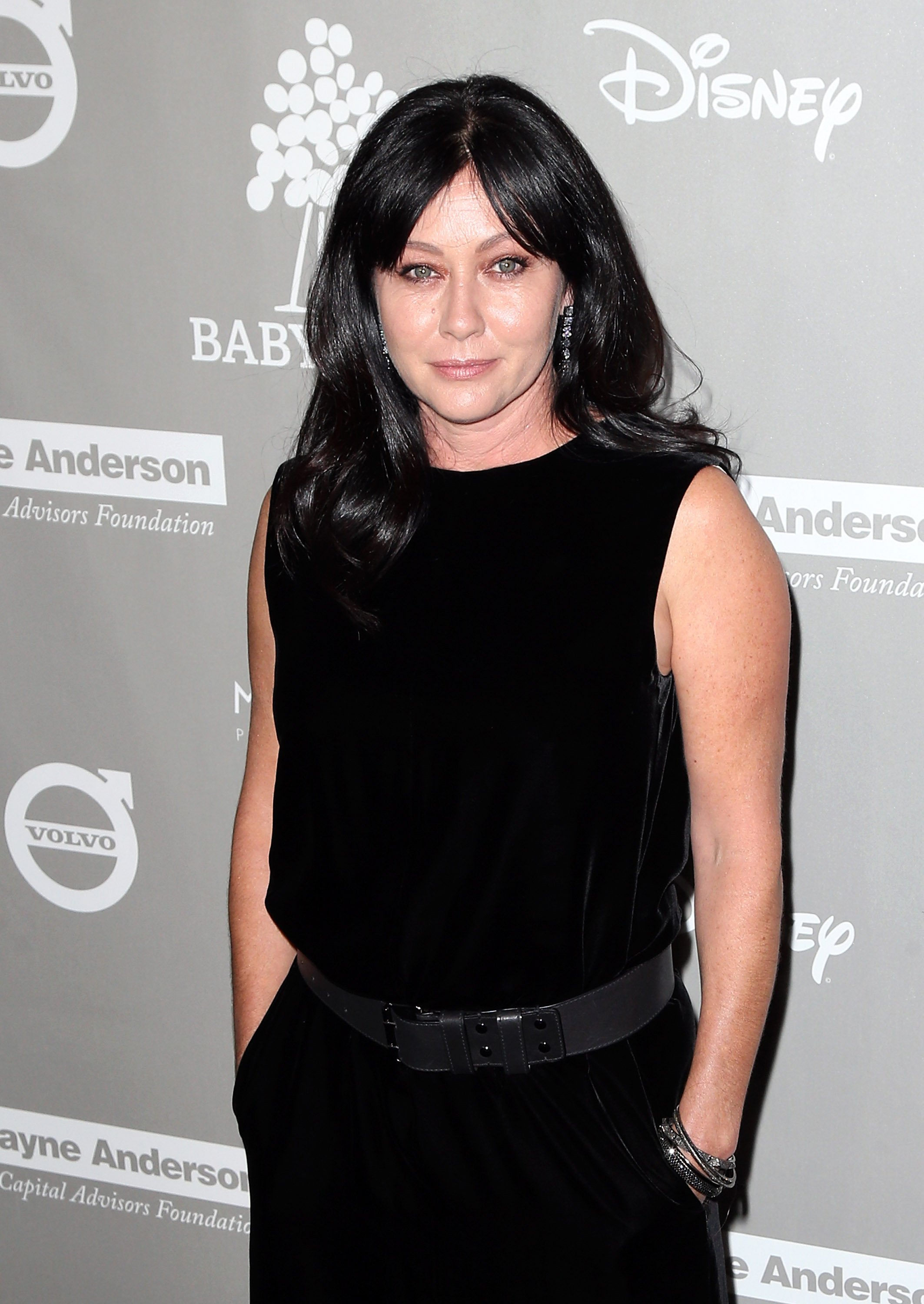 Shannen Doherty at the Baby2Baby Gala presented by MarulaOil & Kayne Capital Advisors Foundation honoring Kerry Washington at 3LABS on November 14, 2015 in Culver City, California   Photo: Getty Images