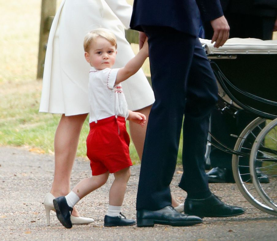 Prince George at the church of St Mary Magdalene on the Sandringham Estate on July 5, 2015 in King's Lynn, England.   Photo: Getty Images