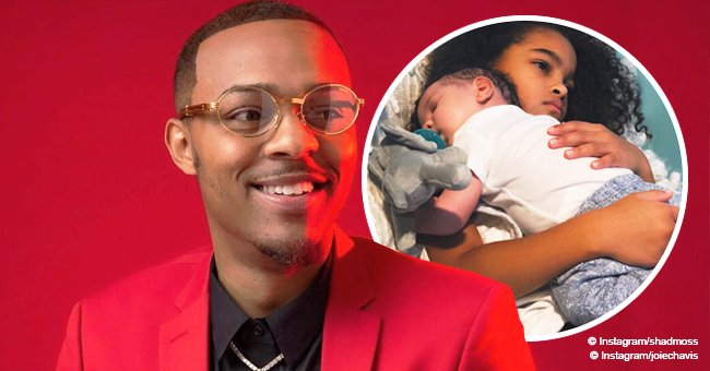 Bow Wow's ex shares photo of their curly-haired daughter taking care of her little brother