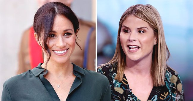 Jenna Bush Hager of 'Today' Defends Meghan Markle Against Online Trolls After Pics of the Duchess Carrying Baby Archie