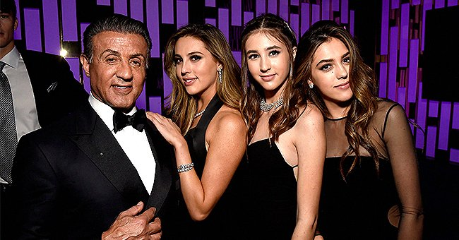 Sylvester Stallone Shares His 74th Birthday Breakfast Prepared by His Daughters in New Photos