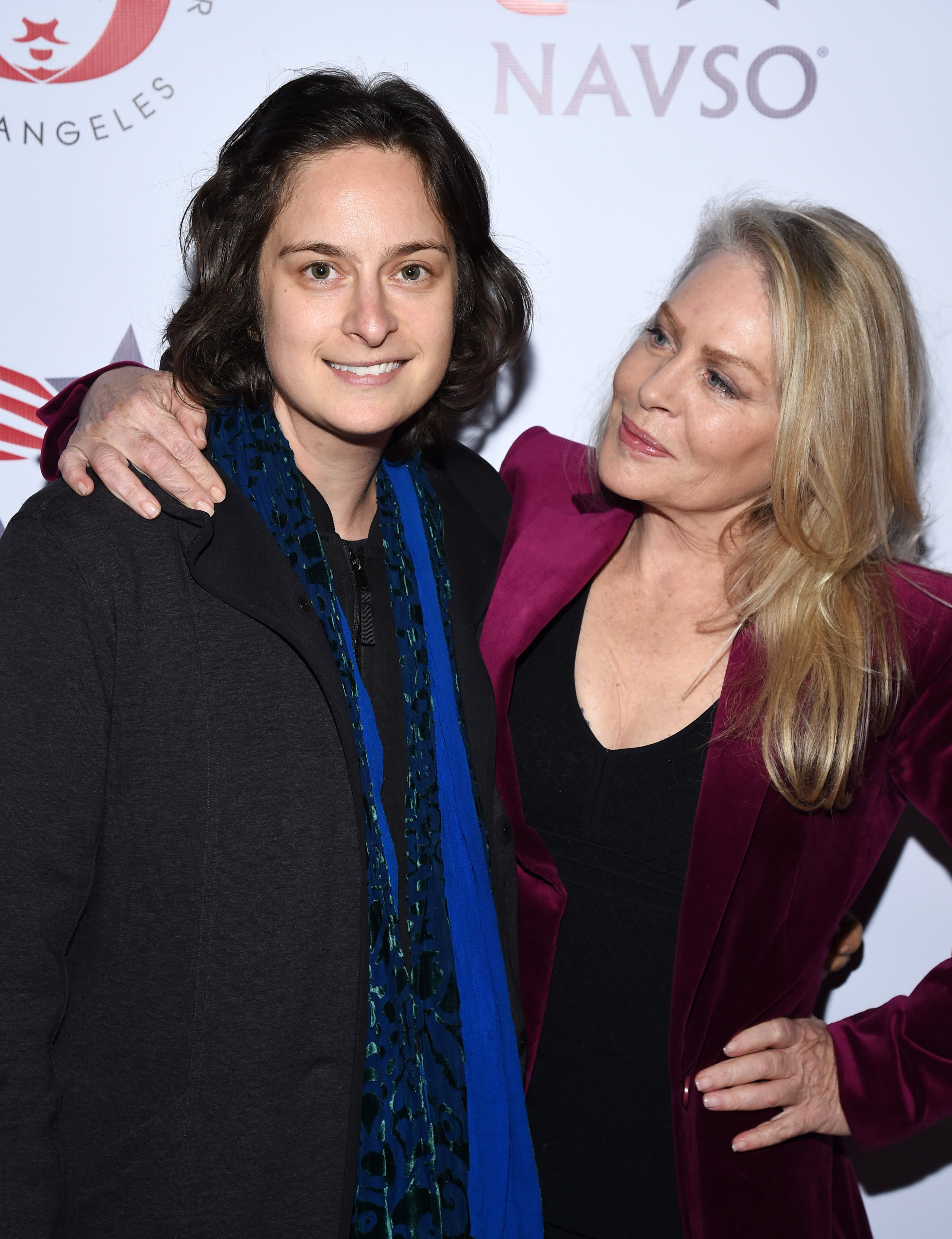 Producer and director Julie Pacino and actress Beverly D'Angelo at the VIP post show reception at Via Porto on March 08, 2020 | Photo: Getty Images
