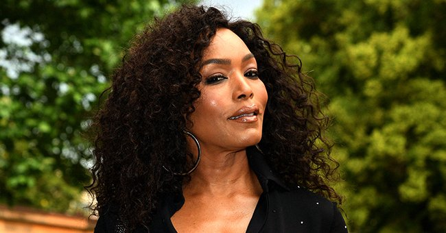 Angela Bassett Is a Tough Cookie in a Chic Teal Suit in Teaser Photo for 'Gunpowder Milkshake'