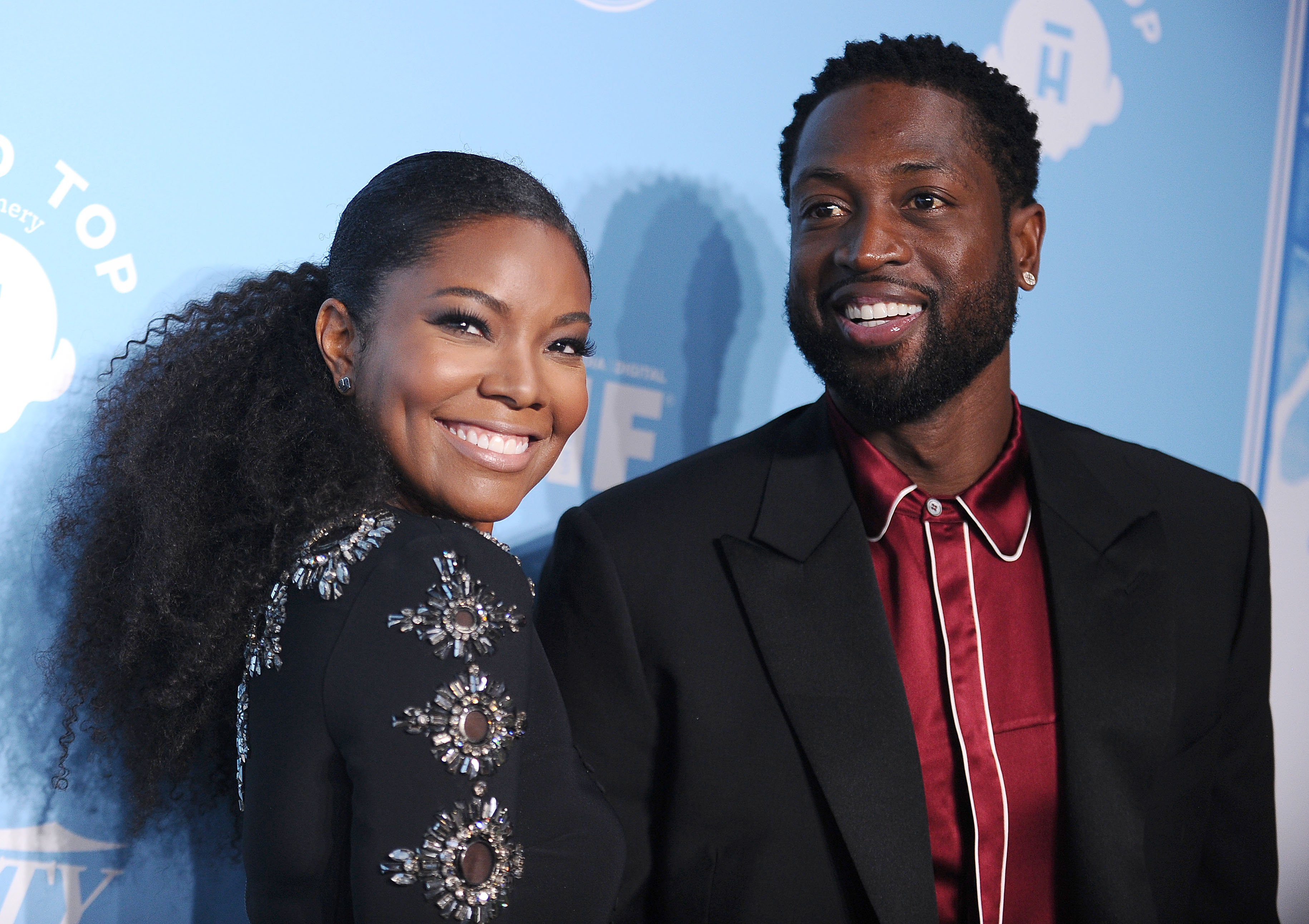 Gabrielle Union and Dwyane Wade attend Variety and Women In Film's 2017 pre-Emmy celebration at Gracias Madre  | Getty Images : photos
