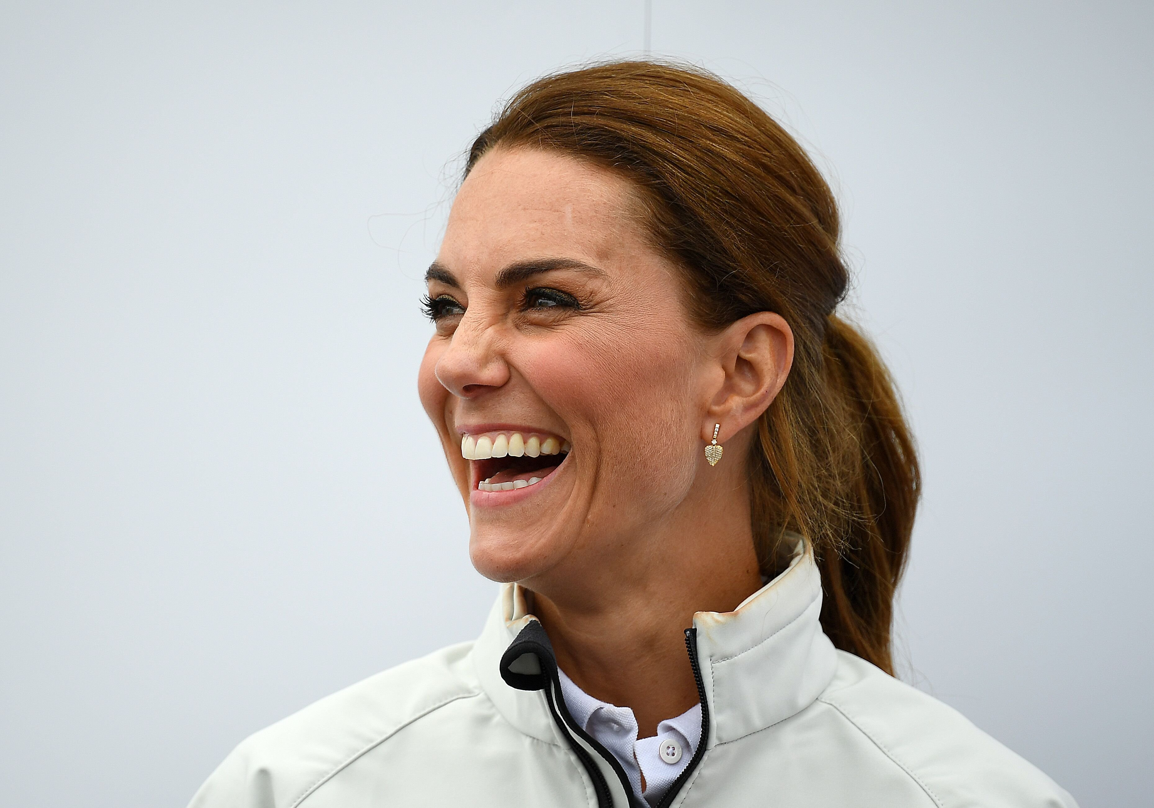 Kate Middleton at the King's Cup charity race. | Source: Getty Images