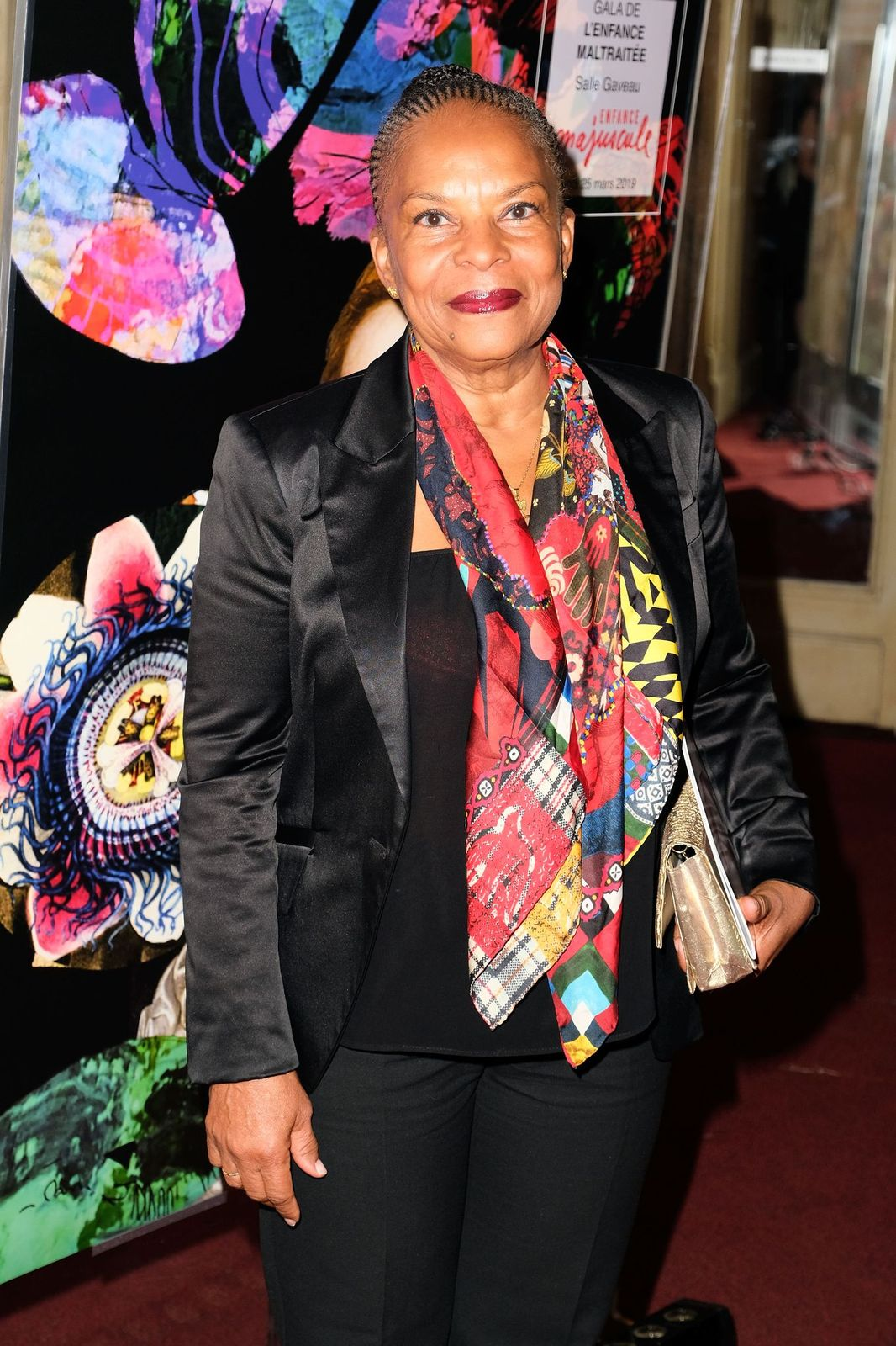 La femme politique Christiane Taubira | Photo : Getty Images.