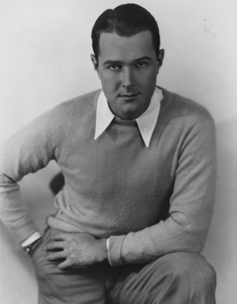 William Haines (1900 - 1973) Hollywood star of MGM's 'Speedway', circa 1933. usage worldwide  Source: Getty Images