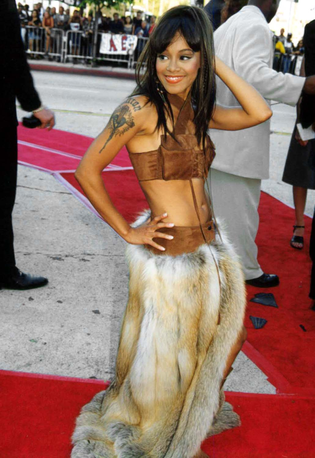 "Lisa ""Left Eye"" Lopes at the 1999 Source Hip-Hop Music Awards. 