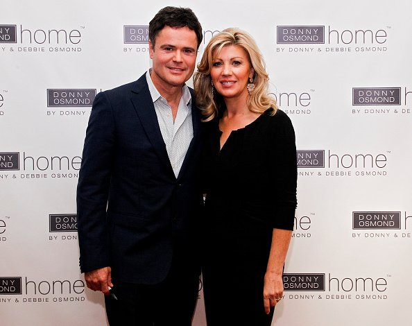 Entertainer Donny Osmond and Debbie Osmond attend the launch of Donny Osmond Home  | Photo: Getty Images