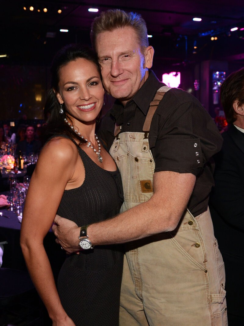 Rory Feek and Joey Feek attending the 60th Annual BMI Country Awards at BMI on October 2012. | Photo: Getty Images.