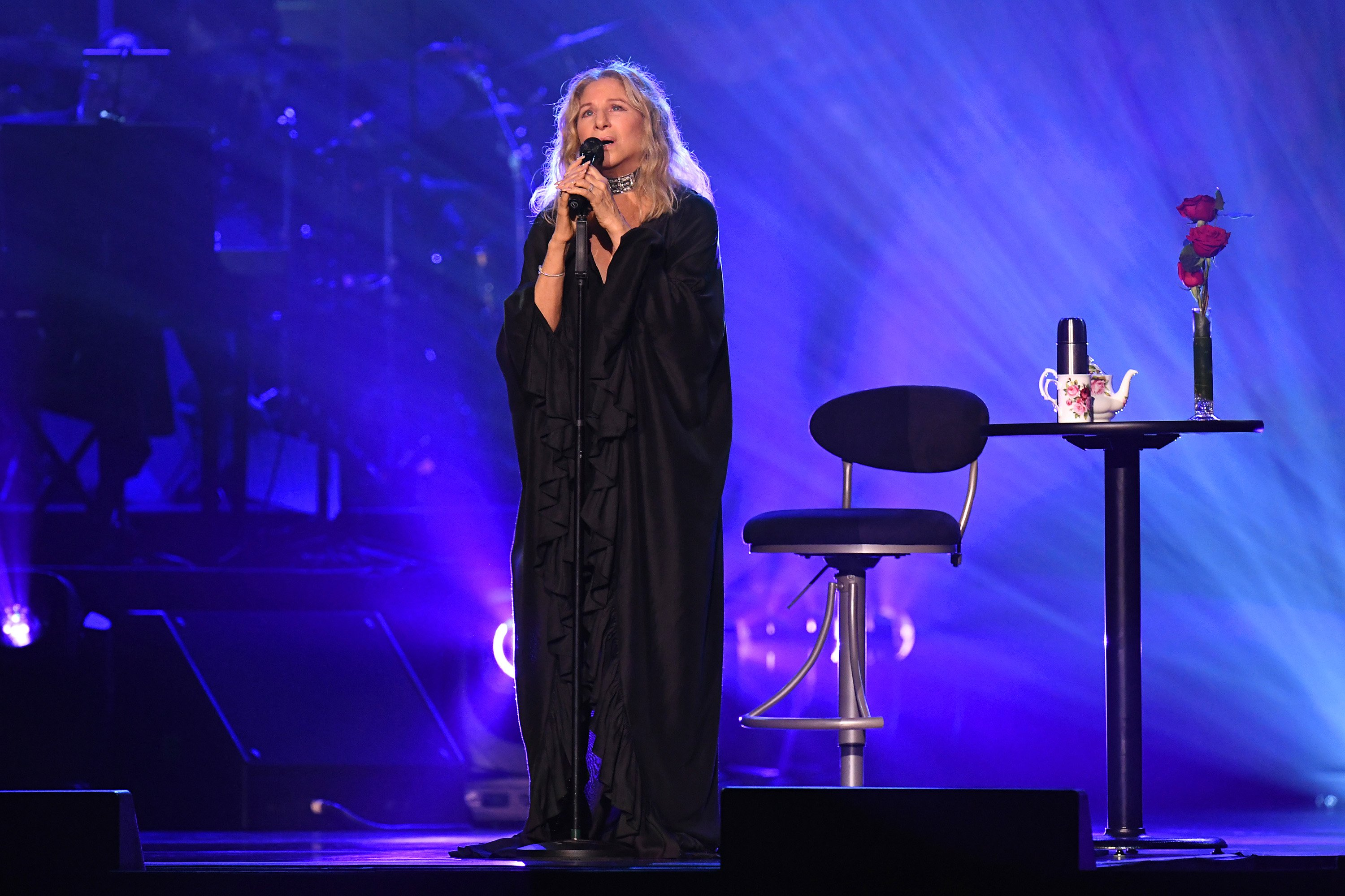 Barbra Streisand performs onstage at United Center on August 06, 2019 in Chicago, Illinois. | Source: Getty Images