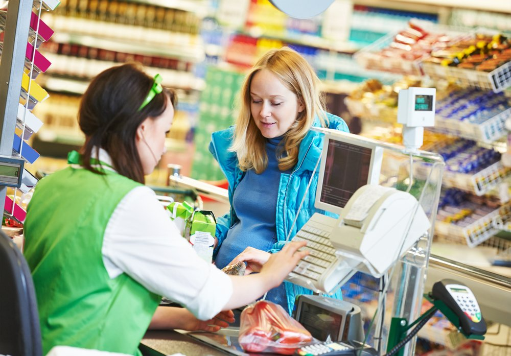 A photo of a customer at a supermarket.   Photo: Shutterstock