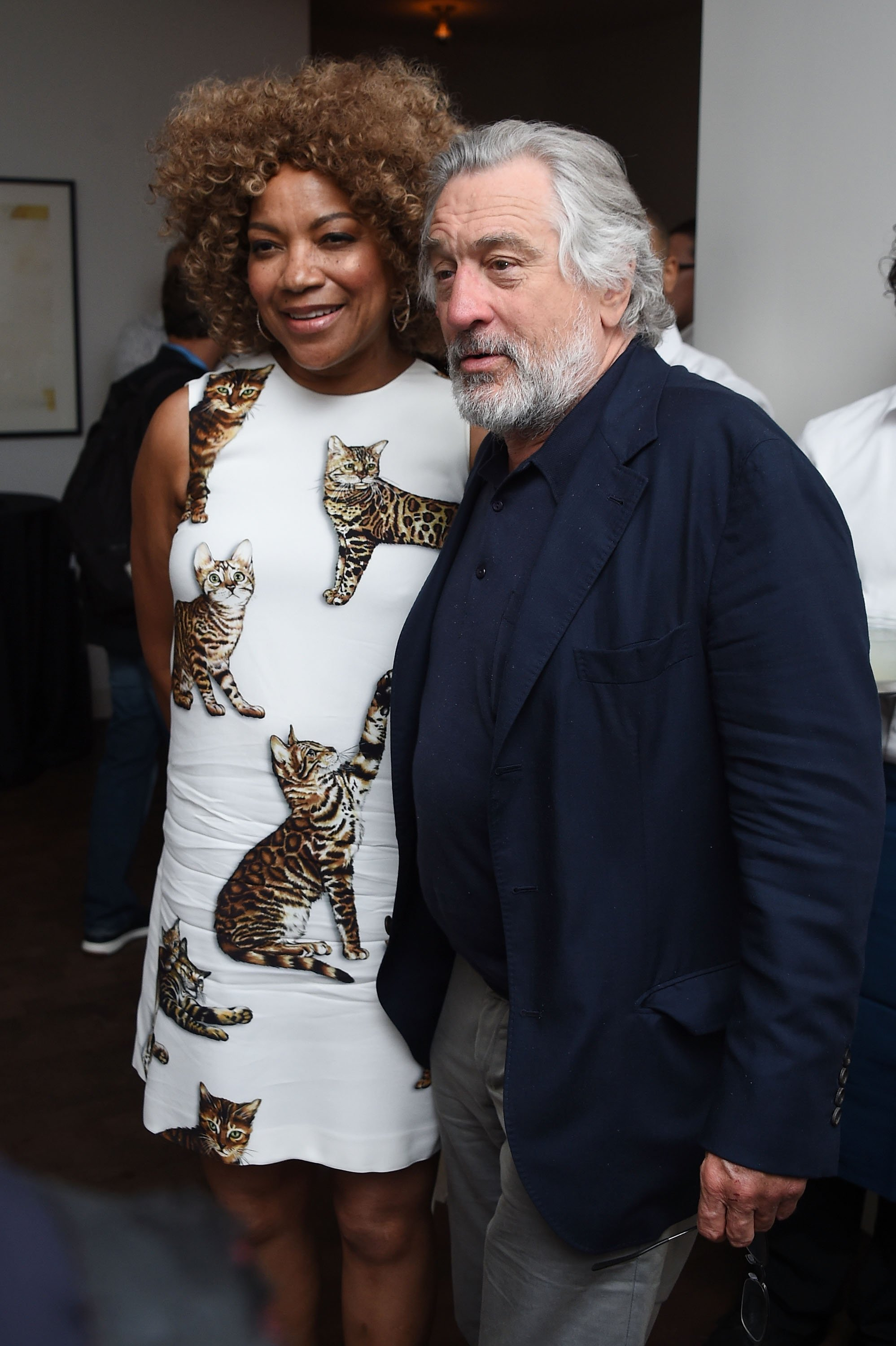 """Grace Hightower and Robert De Niro attend the """"Hands Of Stone"""" U.S. premiere after party at The Redbury New York on August 22, 2016, in New York City. 