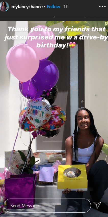 Diddy Comb's daughter, Chance Combs on her fourteenth birthday | Photo : Instagram/myfancychance