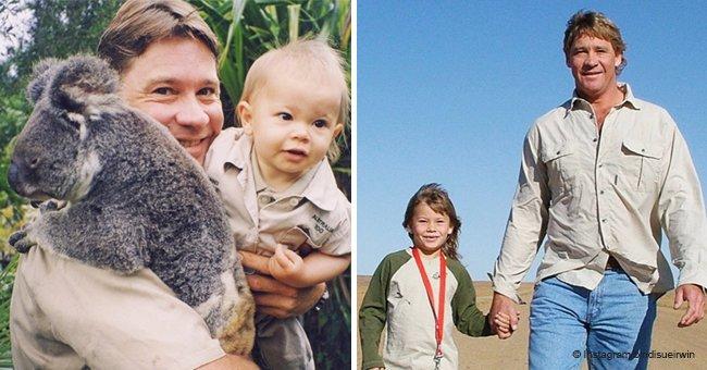 Steve Irwins Tochter dankt verstorbenem Vater in süßem Geburtstags-Tribut