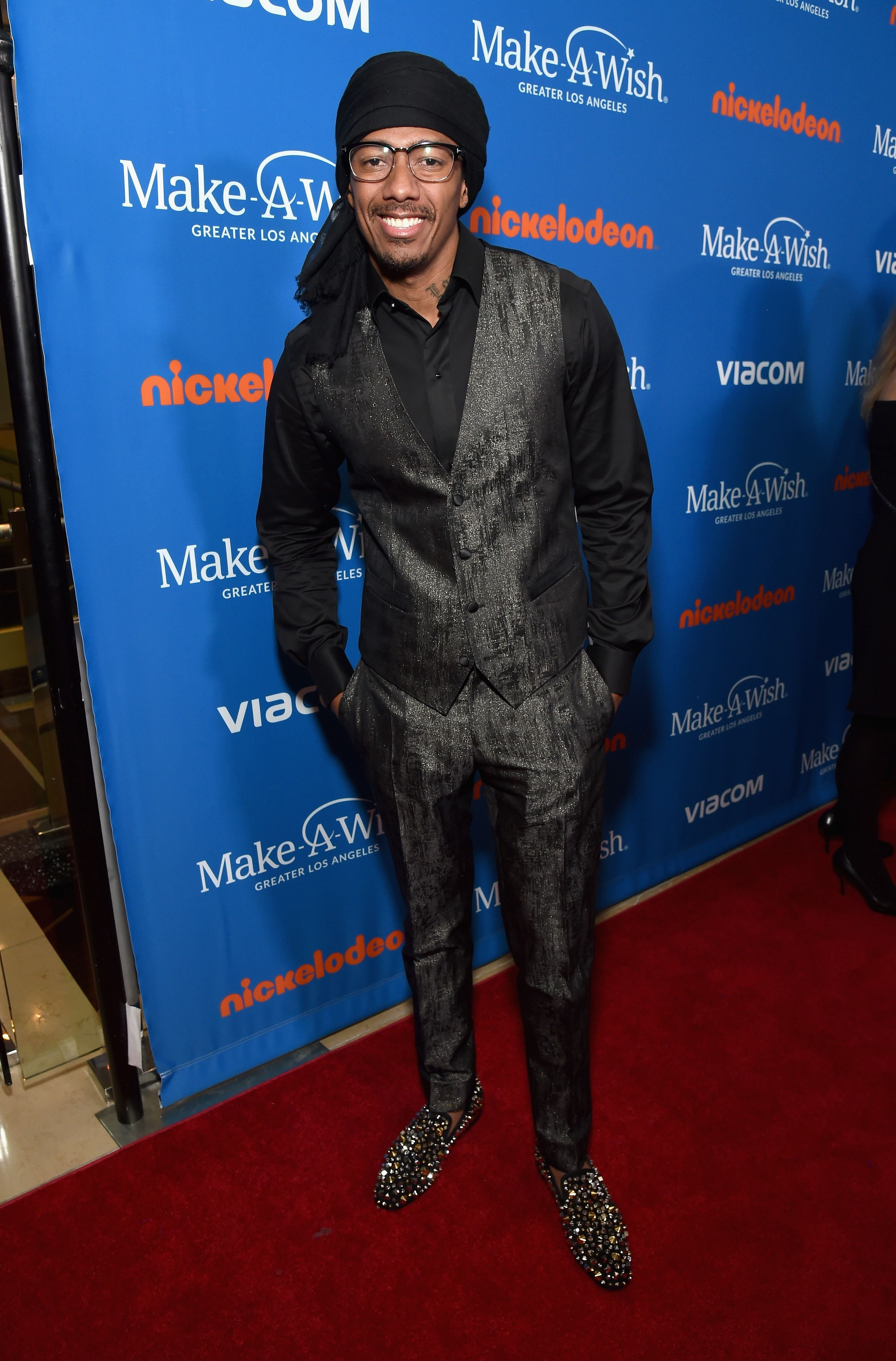 Nick Cannon arrives at the 2018 Make A Wish Gala at The Beverly Hilton Hotel on October 24, 2018. | Photo: Getty Images