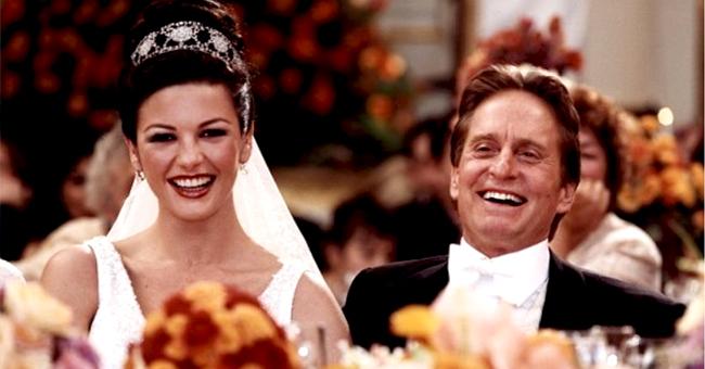 'Kominsky Method' Star Michael Douglas Shares Wedding Pic of Catherine Zeta-Jones as She Turns 50