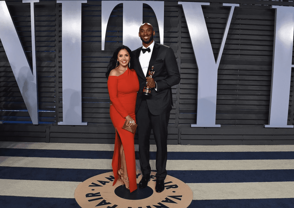 BEVERLY HILLS, CA - 04 MARS : Vanessa Bryant et le joueur de NBA Kobe Bryant assistent à la soirée des Oscars 2018 de Vanity Fair organisée par Radhika Jones au Wallis Annenberg Center for the Performing Arts le 4 mars 2018 à Beverly Hills, Californie. | Photo : Getty Images