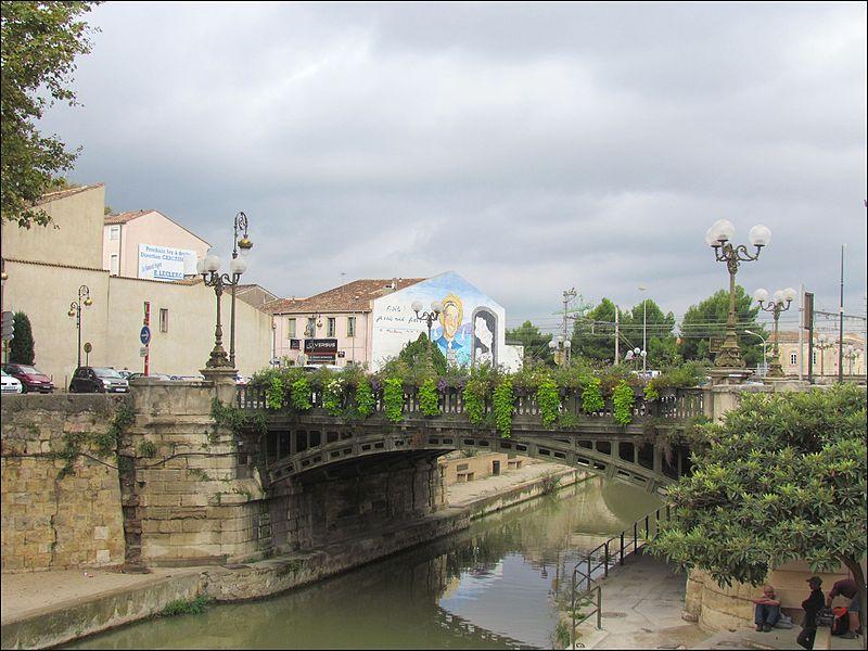 Canal de la Robine à Narbonne. | Wikimedia Commons
