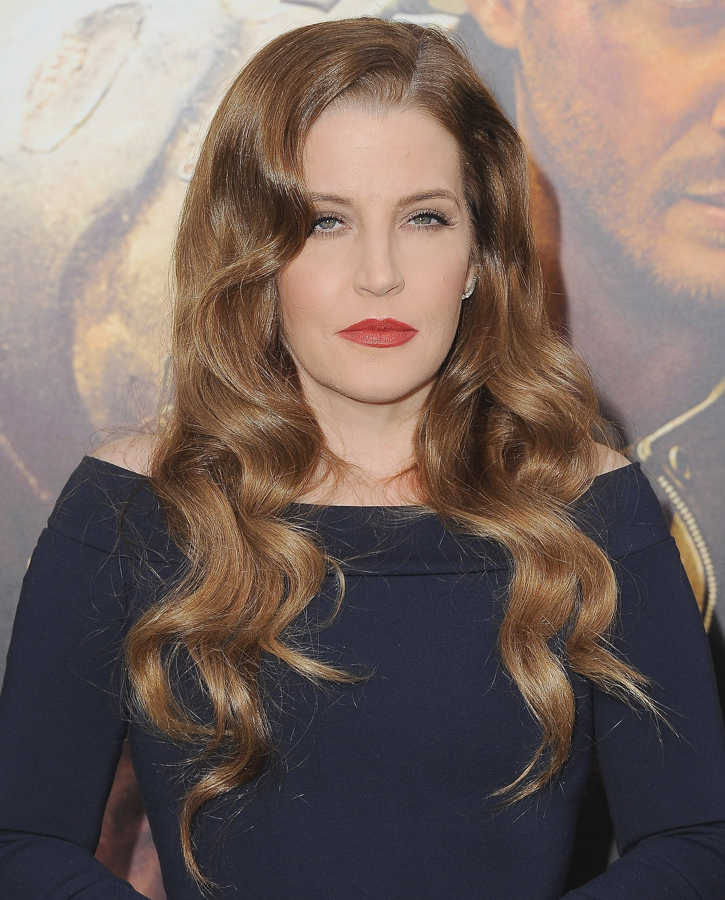 "Lisa Marie Presley attends the premiere of ""Mad Max: Fury Road"" in Hollywood, California on May 7, 2015 