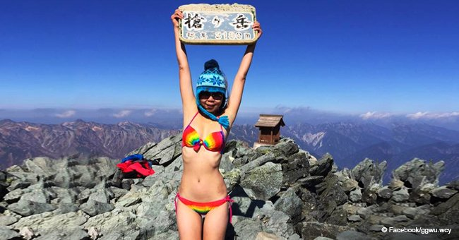 Woman known for hiking in bikinis freezes to death in Taiwan mountains