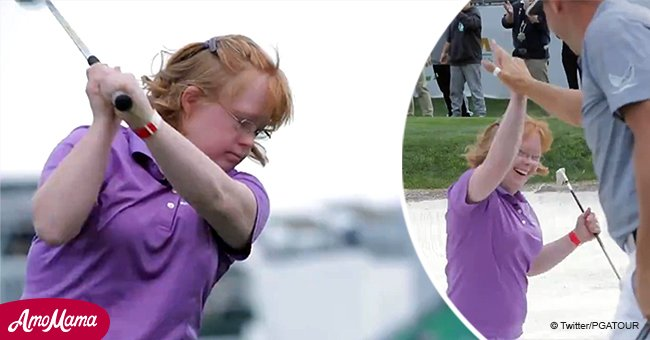 Viral Video of Girl with down Syndrome Helping a Golfpro Squeezes out 'Happy Tears' from Viewers