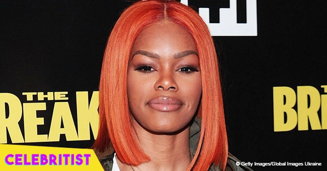 Teyana Taylor steals hearts with photo of growing daughter Junie in yellow Gucci dress & sandals