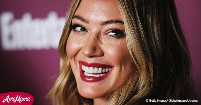 Hilary Duff shares beautiful and emotional photo with her rarely seen stylish mom in pink