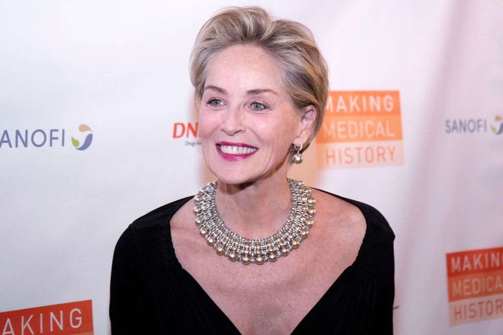 Sharon Stone during the Drugs For Neglected Diseases Initiative's Inaugural Making Medical History Gala at The Bowery Hotel on October 24, 2018 in New York City.  | Source: Getty Images