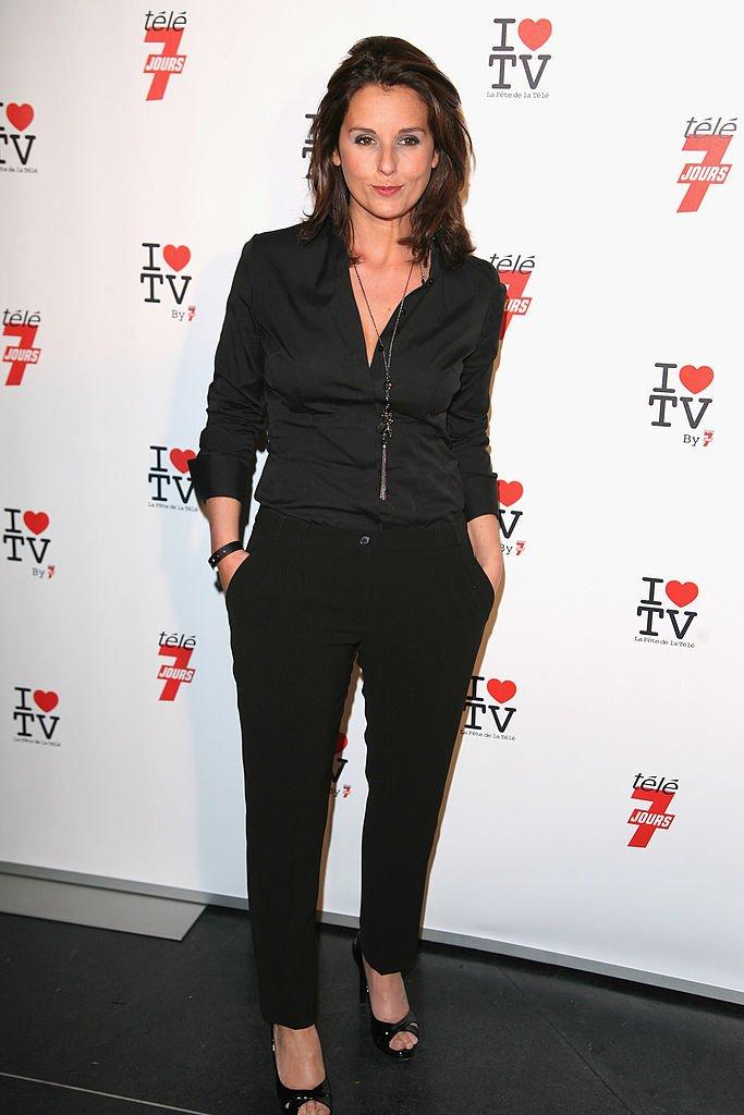 Faustine Bollaert en juin 2010 à Paris.   Photo : Getty Images