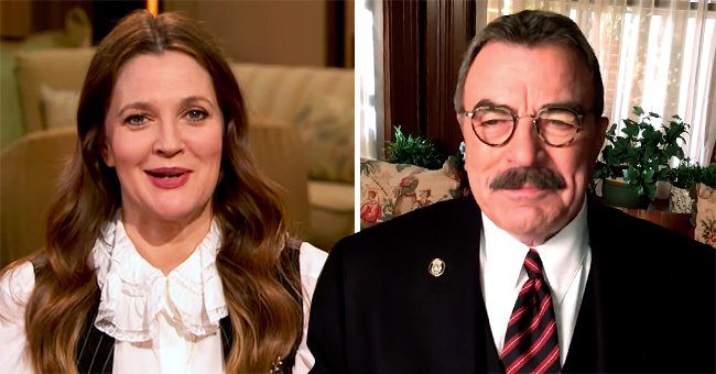 Tom Selleck & Drew Barrymore Team up to Support a Family Helping Restaurants in NYC Amid the Pandemic