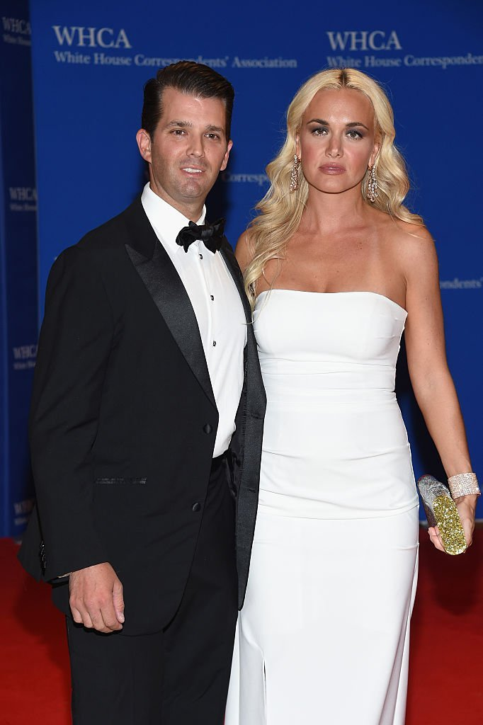Donald Trump Jr.  and Vanessa Trump attend the 102nd White House Correspondents' Association Dinner.   Source: Getty Images