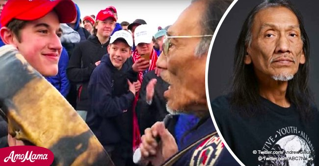 Native American and Vietnam Veteran Allegedly Mocked by Student Gives His Side of the Story
