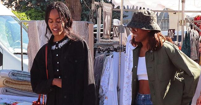 See Malia & Sasha Obama's Savvy Summer Vacation Looks during Paris Vacation