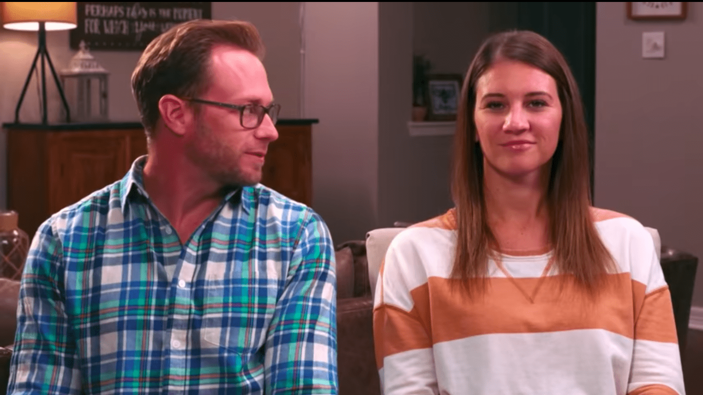 """Adam and Danielle Busby on """"Outdaughtered."""" 