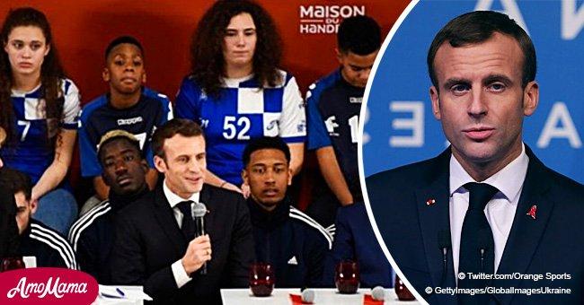 Emmanuel Macron a été raillé pour son discours, ressent un grand moment de solitude (Vidéo)