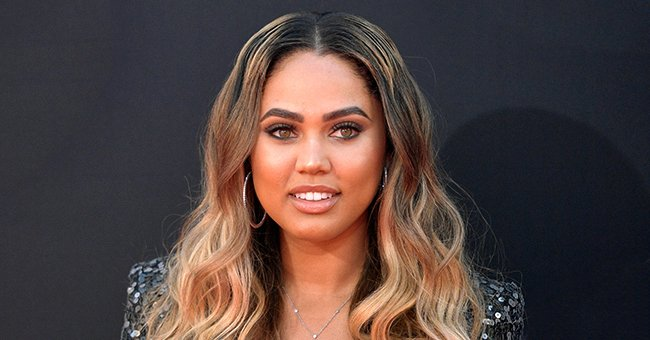 Ayesha Curry Stuns in Magazine Photo Shoot in Deep Red & Printed Outfits with Bantu Knots Hair