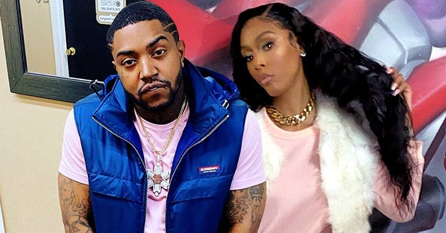 LHHATL Star Lil Scrappy's Wife Bambi Hides Her Baby Bump Posing in a Pink Jogger Set (Photo)