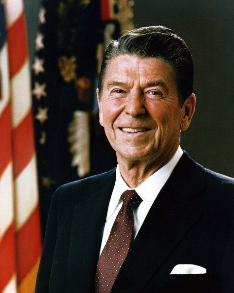 Ronald Wilson Reagan was the 40th President of the United States and the 33rd Governor of California | Photo: Getty Images