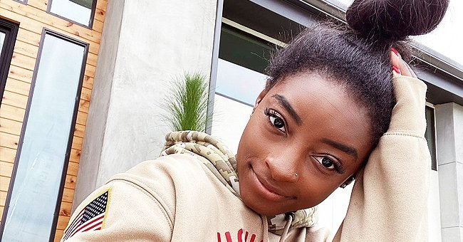 Check Out Simone Biles' Chic Nails as She Accessorizes with a Diamond-like Ring on Her Finger