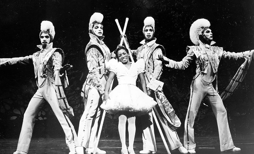 Stephanie Mills as Dorothy and actors in a scene from the Tony Award-winning best musical The Wiz, 1984 | Getty Images