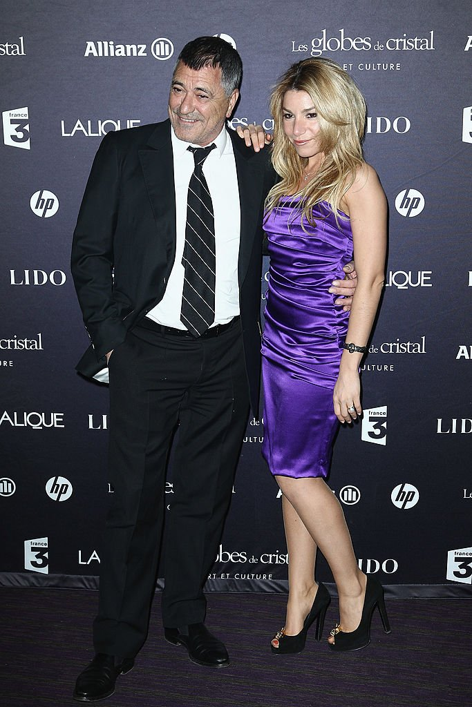 Jean-Marie et Lola en tenue de soirée. | Photo : Getty images