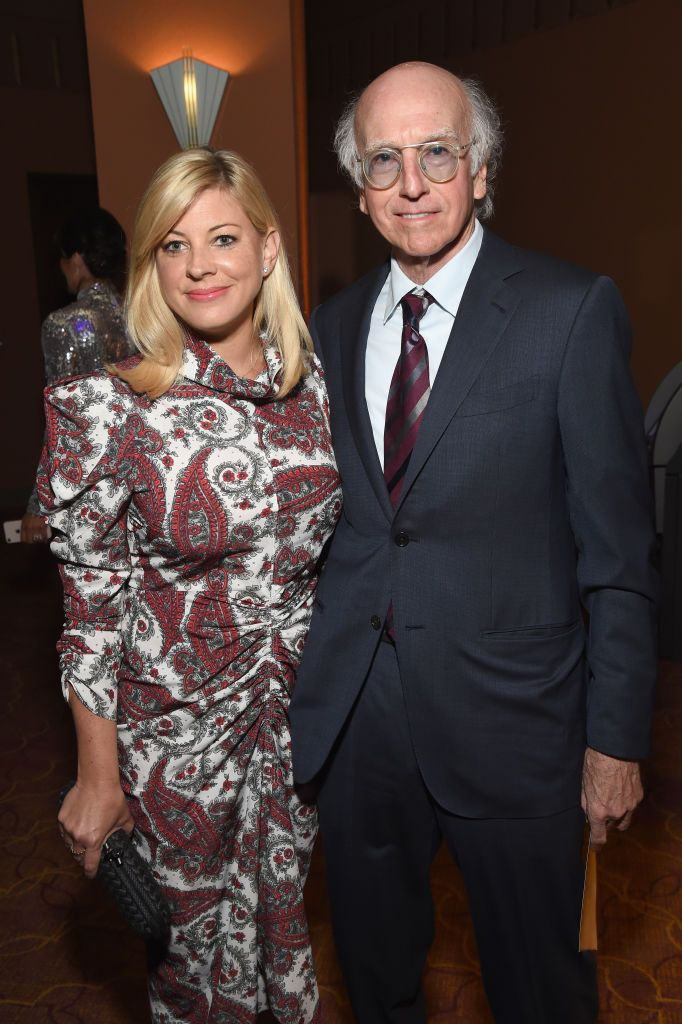 Ashley Underwood and Larry David at the Sean Penn CORE Gala benefiting the organization on January 5, 2019 | Photo: Getty Images