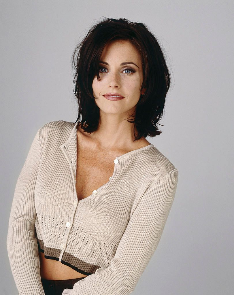 "L'actrice Courteney Cox qui joue le rôle de Monica dans ""Friends"" 