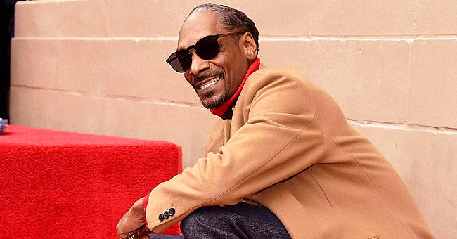 Rapper Snoop Dogg Shares Photo of Sons Corde and Cordell Carrying His Beautiful Granddaughters